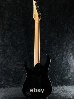 Used 2016 Ibanez Premium Series UV70P Black 7 String Steve Vai Universe Reissue