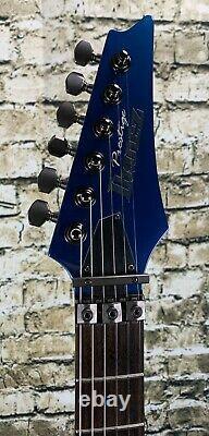 Used Ibanez 2004 Prestige RG2550EX 6 String Electric Guitar Vibrant Blue with Ha