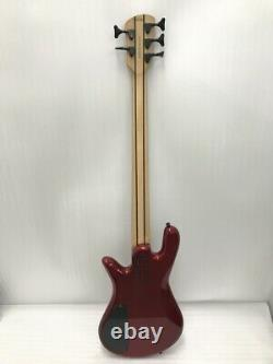 Used Spector Performer 5 String Bass Candy Apple Red HH WithGB Free Shipping