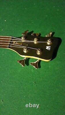 Warwick RockBass Streamer 5 Strings Electric Bass Guitar Honey Violin Satin