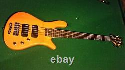 Warwick RockBass Streamer Standard 5 String Electric Bass Guitar Honey Violin